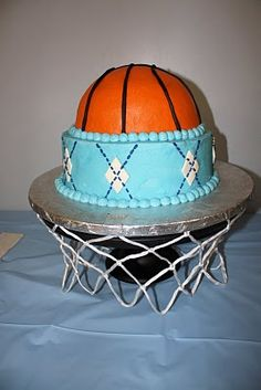 Tripp wants a basketball Party-7 years old