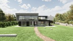 Wohnen am See Spa, Underground Garage, Boathouse, Detached House, Architecture