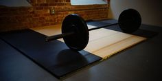 How to make your own homemade lifting platform for your home gym. Costs less than $100!