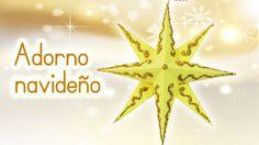 Manualidades para Navidad: ADORNO NAVIDEÑO Estrella de papel - Innova Ma...