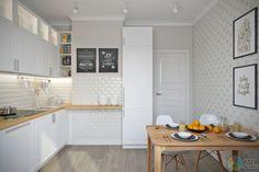 Квартира 74 кв. м в скандинавском стиле в г. Нерюнгри