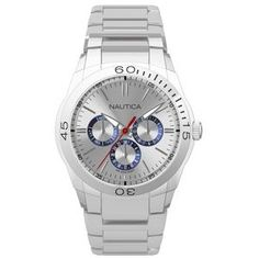 Nautica Men's N13621G NAC 100 Classic Analog Watch