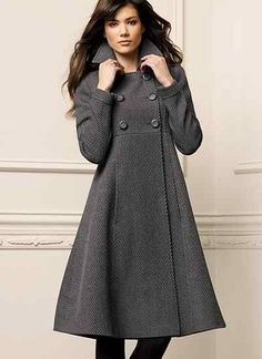Latest Trend Of Winter Coats 2015 For Young Women Minimalist Outfit, Instyle Fashion, Fashion 2015, Parka Coat, Wool Coat, Raincoats For Women, Stylish Raincoats, Winter Jackets Women, Vintage Coat