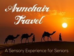 Start an 'Armchair Travel' tradition at your facility! Make it a monthly event and build up expectations to this most interesting and fun activity. Activities For Dementia Patients, Alzheimers Activities, Elderly Activities, Senior Activities, Team Building Activities, Work Activities, Activity Ideas, Outdoor Activities, Craft Ideas