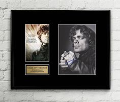 Tyrion Lannister - Peter Dinklage - Autograph Signed Poster Art Print Artwork - Game of Thrones
