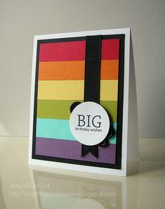 Rainbow Birthday Card