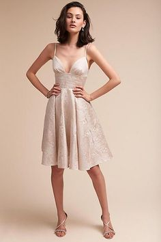 Anthropologie Winchester Wedding Guest Dress