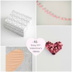 10 Easy DIY Valentine's Ideas