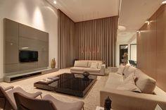 Sala de estar moderna e mega elegante! https://www.homify.com.br/livros_de_ideias/39386/dicas-de-decoracao-para-salas-de-estar-imperdiveis