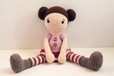 PATTERN : Doll  Crochet pattern  Amigurumi Doll von Anatillea