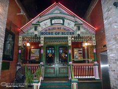 the original House of Blues in New Orleans...LOVE