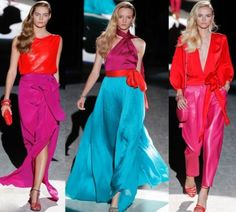 spring 2012 color blocking - <3 the mixing and mathcing