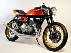 suzuki t500 gt500 cafe racer titan | cafes, gt 500 and motorbikes