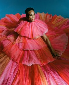 "Hollywood can keep its superheroes because Billy Porter ( is done trying to fit in. ""For the first time in my life, I was… Done Trying, Costume Institute, Red Carpet Looks, Androgynous, Style Icons, Editorial Fashion, Ball Gowns, Beautiful People, Dress Up"
