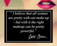 Do I really need pro hair and make-up for my boudoir shoot? Boudoir make-up tips boudoir quote, beauty quote. The Boudoir Divas. www.theboudoirdivas.com