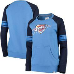 Oklahoma City Thunder Fanatics Branded Women's Iconic Pullover Sweatshirt - Blue/Navy - $49.99