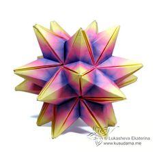 cool modular origami diagram 2002 honda crv fuse box fullerene (truncated icosahedron) - penultimate module | virus pinterest origami, ...