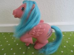 Frirefly original my little pony 1983...omg Kelly! We still have this one with your name under its foot!