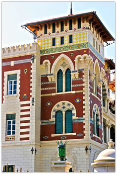 Montazah Palace, Alexandria, Egypt