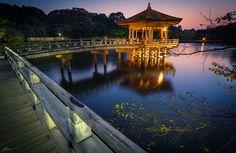 Evening in Nara by ScottSimPhotography