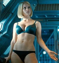 The hottest women in the history of the Star Trek franchise. These sexy Star Trek girls are the hottest in the universe. Female Movie Characters, Star Trek Characters, Star Trek Movies, Star Trek Actors, Alice Sophia Eve, Alice Eve Hot, Science Fiction, New Star Trek, Star Trek Cast