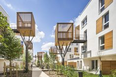 Fragmentation of built mass opens the way for a continuity with the surrounding context and the creation of visual perspectives, making this city block more porous and open. This approach also alleviates the perceptio...