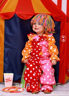 Clown Costume Kids clown costume Clown by MyPurplePrincessShop