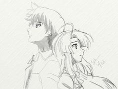 Kazuma and Ayano