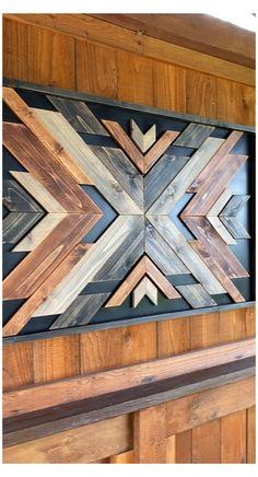 Wood Wall Design, Metal Wall Art Decor, Diy Wall Art, Reclaimed Wood Wall Art, Rustic Wood Walls, Wooden Wall Art, Wood Artwork, Rustic Wood Crafts, Diy Wood