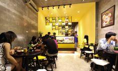 Ice Cream Polar shop by 23o5 studio, Ho Chi Minh City – Vietnam » Retail Design Blog