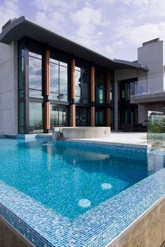 Swimming pool construction costs are depend on the design, which includes the material, and also the parts. The above ground and the in ground swimming pool requires different construction technic Swimming Pool Tiles, Luxury Swimming Pools, Luxury Pools, Swimming Pools Backyard, Swimming Pool Designs, Pool Decks, Pool Landscaping, Best Above Ground Pool, Above Ground Swimming Pools