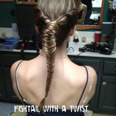 Fishtail with a Twist. www.thefunkydebutante.com