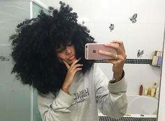 kinky 4c natural hair beauty @cachosdavic