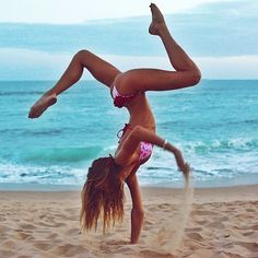 hot yoga before and after,couples yoga challenge,bedroom yoga Yoga Pictures, Yoga Photos, Fit Girl Motivation, Fitness Motivation, Flexible Girls, Beach Yoga, Beach Fun, Yoga Posen, Yoga Music