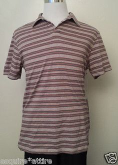 men casual shirts for sale : COLOURS by Alexander Julian men size M #POLO style cotton shirt v-neck NWT ($55) withing our EBAY store at  http://stores.ebay.com/esquirestore
