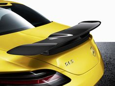Mercedes-Benz SLS AMG Coupe Black Series - Rear Wing
