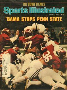 Sports Illustrated January 8 1979 Sec Football, College Football Teams, Crimson Tide Football, Alabama Football, Alabama Crimson Tide, Alabama Athletics, Buckeyes Football, Football Quotes, Oakland Athletics