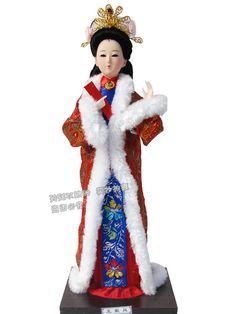 Barato Boneca beleza chinês antigo palácio mulheres acessórios bonecas de decoração, Compro Qualidade Outras decorações de festa diretamente de fornecedores da China:          Free shipping 32cm  Beautiful Japan Geisha Japanese beauty silk dolls Home Decration Hand-mad
