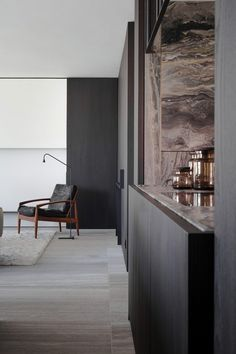 Project Sono in Ghent Belgium by Luxhome Interiors Interior Styling, Interior Decorating, Interior Design, Living Room Interior, Kitchen Interior, Contemporary Kitchen Design, Dark Interiors, Luxury Living, Interior Inspiration