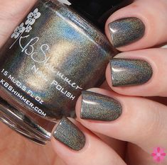 KBShimmer Winter 2015 Collection; Coal In One