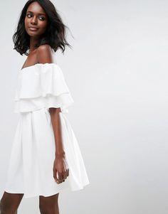 Cutest white dress!