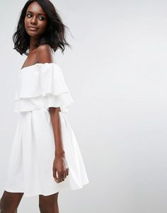 Cutest white dress!