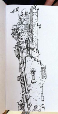 Royal Mile garret, super-deformed style.