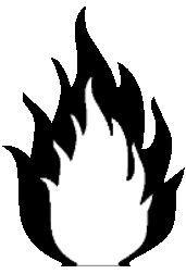 Flame Stencil by D4g3n.deviantart.com
