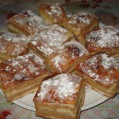 Mámorító három lapos almás – évek óta így sütöm! Édes kényeztetés a hűvös napokra! Hungarian Cake, Hungarian Recipes, Hungarian Food, Food Humor, Funny Food, Winter Food, Baked Goods, French Toast, Deserts