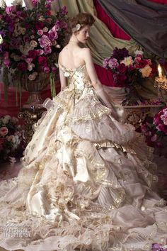 Haute Couture Wedding Dresses by Stella de Libero | Who Designed It?