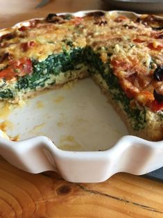 My Recipes, Low Carb Recipes, Favorite Recipes, Healthy Recipes, Low Carb Quiche, Quiche Recipes, Food Inspiration, Clean Eating, Food And Drink