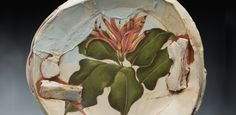 After 30 Years A Potter Changes to a Painterly Approach to his Pottery Surfaces Using Color Slips