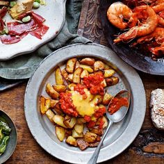Spicy Spanish potatoes (patatas bravas) Recipe on Yummly. @yummly #recipe
