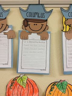 FREE FOR ME! Free activities from TpT for Columbus day! From the blog: TimeTwoTeach